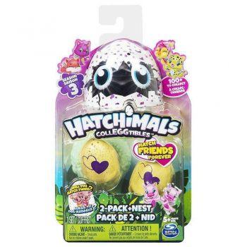 Hatchimals Colleggtibles Blister Com 2 Ovos E Ninho