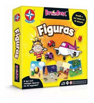 Jogo Brainbox Figuras - Estrela Estrela