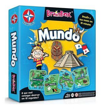 Jogo Brainbox Mundo - Jogo De Raciocínio - Estrela Original