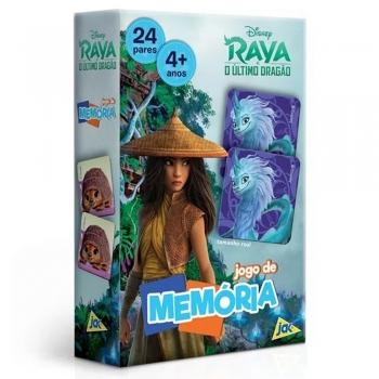 Jogo Da Memória Disney Raya E O Último Dragão Toyster 2861