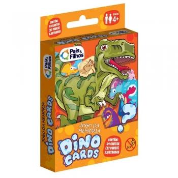 Jogo Da Memória Infantil Dinossauros Dinocards Jurassic