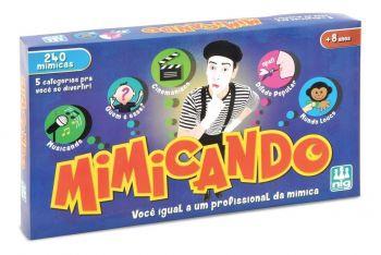 Jogo De Mímica - Mimicando - 240 Mímicas - Nig