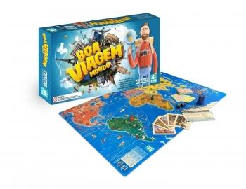Jogo De Tabuleiro Boa Viagem Mundo - Nig Brinquedos