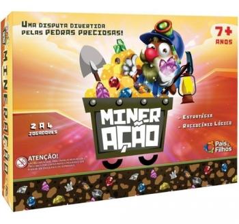 Jogo De Tabuleiro Mineração Pais E Filhos Promoção