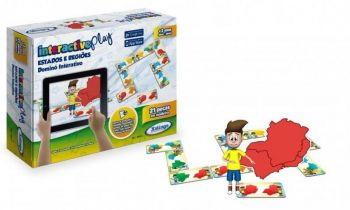 Jogo Dominó Interactive Play Estados E Regioes 53243 Xalingo