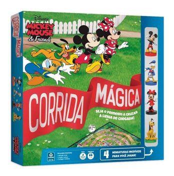 Jogo Tabuleiro Corrida Mágica Disney Mickey & Friends Copag
