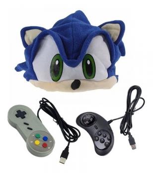 Kit 2 Controles - Snes Mega Drive + Touca Sonic Mario