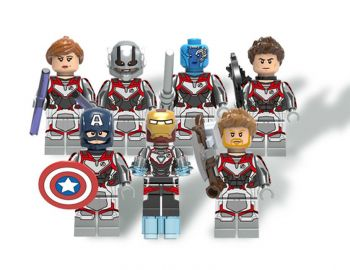 Kit Lego C/ 7 Bonecos Marvel Vingadores Ultimato Endgame