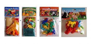 Kit Fazendinha Gulliver Com 10 Figuras + Zoológico + Animais