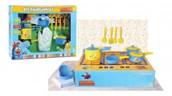 Kit Panelinhas Galinha Pintadinha 10 Peças Nig Brinquedos