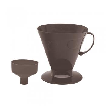 Kit Porta Filtro + Adaptador Para Garrafa Térmica Coador Café