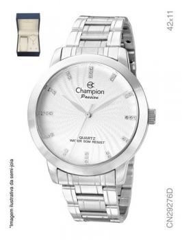 Kit Relogio Champion Feminino CN29276D Prata