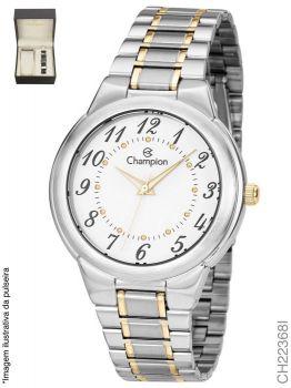 Kit Relógio Feminino Champion Ch22368i Com Pulseira