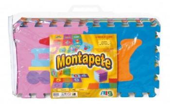 Kit Tapete De Eva Alfabeto Montapete Da Nig Brinquedos 0824 Tatame Infantil Bebê