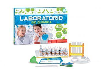 Laboratório De Química - C/ 40 Experiências + Kit - Nig