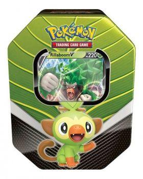 Lata Deck Pokémon Parceiros De Galar Grookey Cinderace Rillaboom Copag