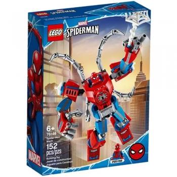 Lego Marvel Super Heroes Robô Spider-man Com 152 Peças 76146