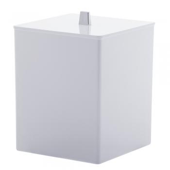 Lixeira Quadrada Banheiro Lavabo Pia Cozinha Quadratta Paramount