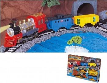 Locomotiva Expresso II Trenzinho Braskit Com Nf