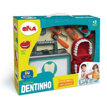 Maleta Dentista Dr Dentinho Brincadeira Médico Original Elka