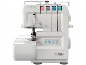 Máquina De Costura Elgin Overlock 1000