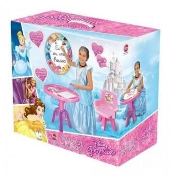 Mesa E Cadeira Centro De Atividades Princesas Disney Líder