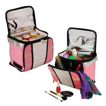 Necessaire Térmica Praia Piscina Bolsa Cooler Lancheira 7,5 Litros Fashion
