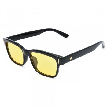 Óculos Bloqueador Anti Raio Azul Leitura Lente Amarela