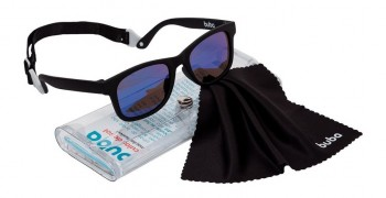 Óculos De Sol Para Bebê Buba Alça Ajustável E Lenço Preto