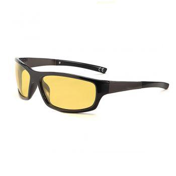 Oculos De Sol Polarizado Visao Noturna Dirigir A Noite Luxo