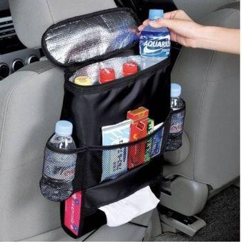 Organizador Portatil Cooler Bolsa Termica Para Carro E Automovel Porta Treco Multiuso Uber Taxi E Cr