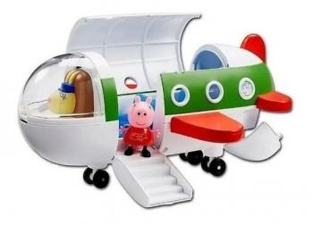 Peppa Pig Brinquedos Avião Da Peppa 25 Cm - Sunny 2308