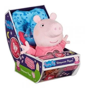 Peppa Pig Pelúcia Hora De Dormir Com Luz E Som 2327 - Sunny