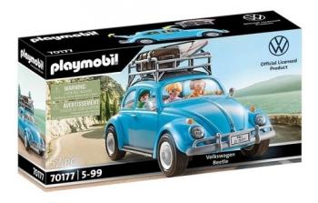 Playmobil Carro Volkswagen Fusca Azul Beetle 52 Pçs - 70177