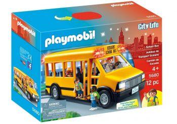 Playmobil City Life Ônibus Amarelo Escolar 5680 269