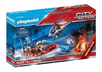 Playmobil - Missão De Resgate Bombeiros 2531