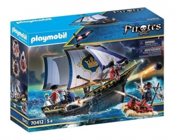 Playmobil Navio Dos Piratas Soldados Ingleses - Sunny 2485