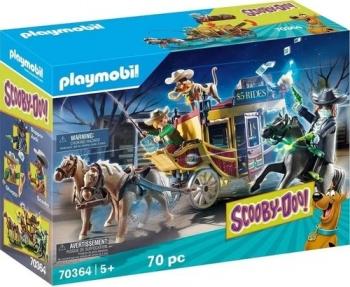 Playmobil Scooby Doo 70 Peças Aventura Velho Oeste 70364