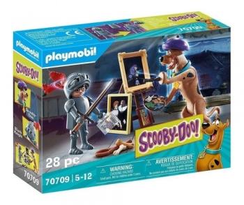 Playmobil Scooby Doo Aventura Cavaleiro Negro 28 Peças 2573