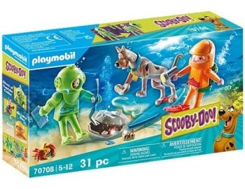 Playmobil - Scooby-Doo! Aventura Com Fantasma Mergulhador