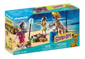 Playmobil - Scooby-Doo! Aventura Com O Bruxo 2571