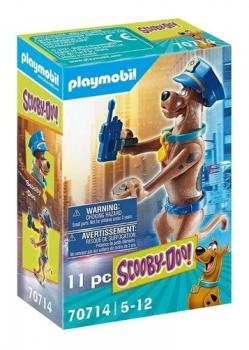 Playmobil Scooby-Doo! Figura Colecionável Polícia 2578