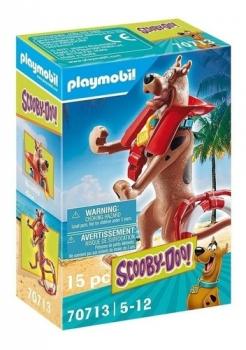 Playmobil Scooby-Doo! Figura Colecionável Salva-Vidas 2577