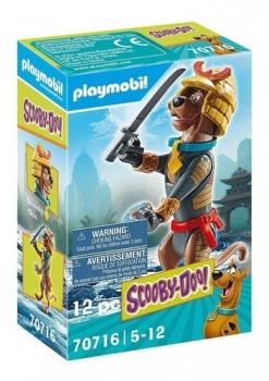 Playmobil Scooby-Doo! Figura Colecionável Samurai 2580