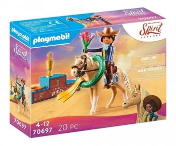 Playmobil Spirit Rodeio Pru Com Cavalo Sunny 2567