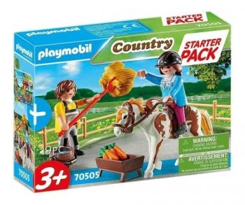Playmobil Starter Pack - Equitação Country - 19 Peças - Sunny 2552