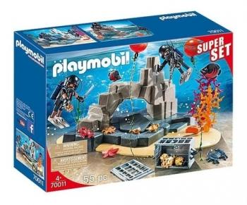 Playmobil Super Set Mergulho Do Tesouro - Sunny 1599