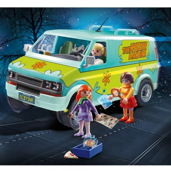 Playmobil Van Scooby Doo Máquina De Mistérios 70286