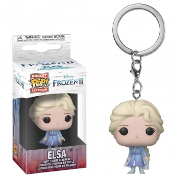 Pocket Pop Keychain Chaveiro Funko Elsa Frozen II Disney