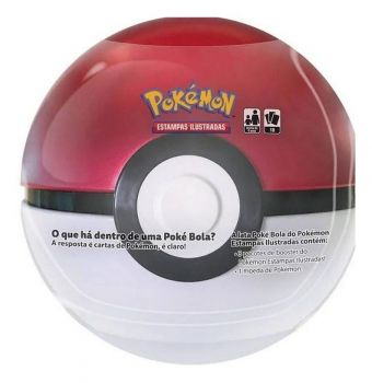 Pokemon Lata Pokebola Super Poké Bola Vermelha Ultraball Ash Pikachu